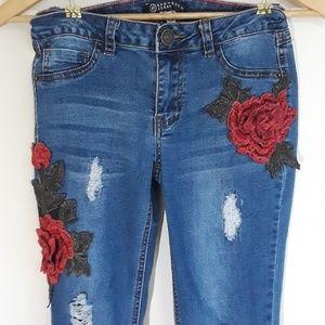 Boom Boom Jeans size 5 stretch skinny 👖🌹